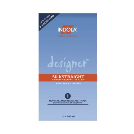 INDOLA Designer Silkstraight KIT