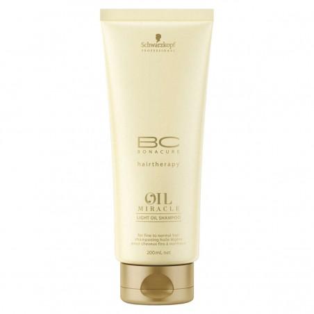 Schwarzkopf BC Bonacure Oil Miracle Light Oil Shampoo 200 ml