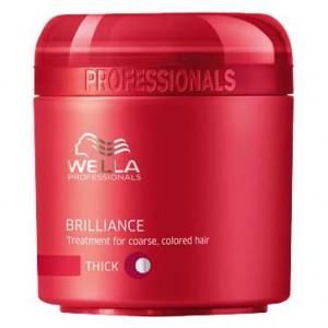 Wella Brilliance Masker voor Weerbarstig Haar 150 ml