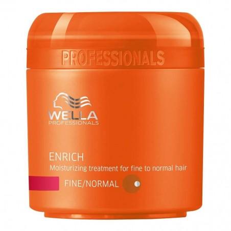 Wella Enrich Moisturizing Mask voor Fijn Haar 150 ml