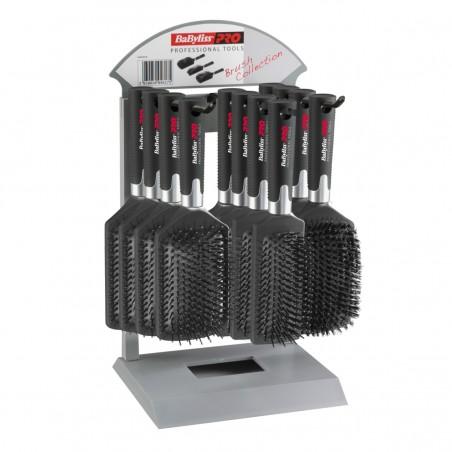 BaByliss PRO BABPBDSPE Counter Display met 12 pneumatische borstels