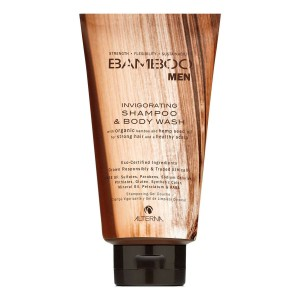 ALTERNA Bamboo Men Invigorating Shampoo & Body Wash 250 ml
