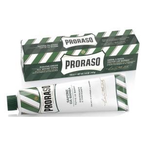 PRORASO Schaving Cream Green Tube 150 ml