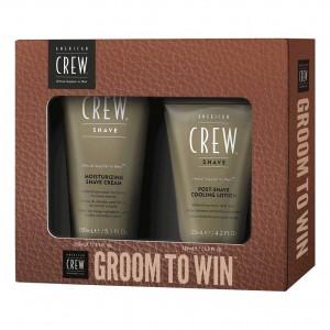 American-Crew-Groom-To-Win-Schaving-Cream-Pack