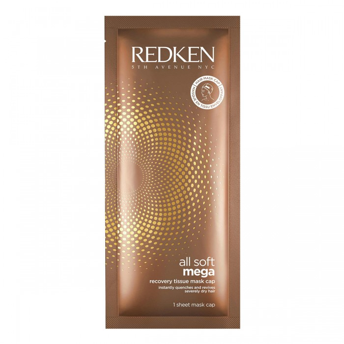 REDKEN All Soft Mega Recovery Tissue Mask Cap