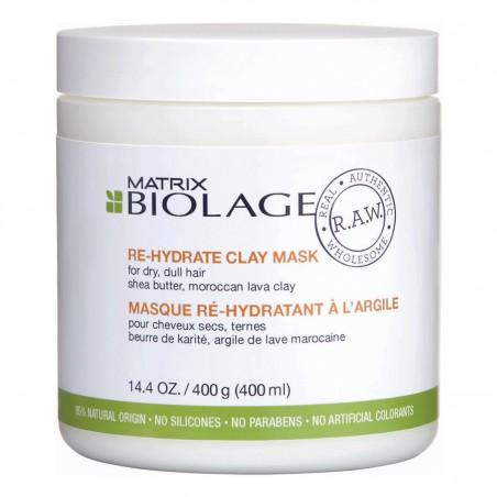 MATRIX Biolage R.A.W. Re-Hydrate Clay Mask 400 mL