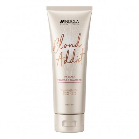 INDOLA Blond Addict Pinkrose Shampoo 250 mL