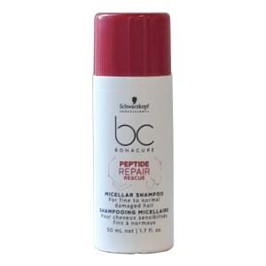 Schwarzkopf BC Peptide Repair Rescue Micellar Shampoo 50 mL